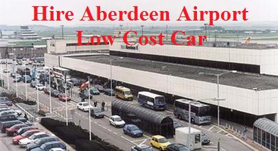 Aberdeen airport car hire comparison