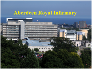 aberdeen royal infirmary phone number