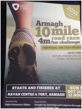 Armagh 10 mile Road Race