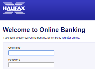 Halifax Online Banking Login
