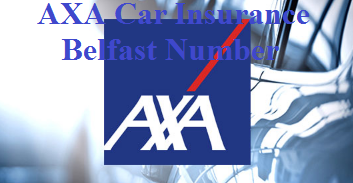 AXA Car Insurance Belfast Number