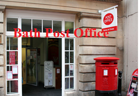Bath Post Office Postcode