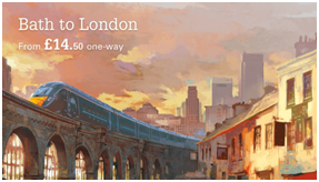 Bath to London Train Tickets