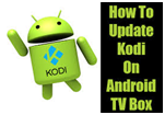Update Kodi on Android