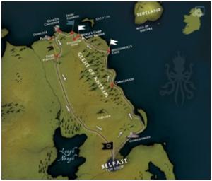 Belfast Iron Islands and Giant's Causeway Adventure