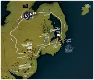 Belfast Winterfell Locations Trek