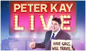 Peter Kay Tour 2018