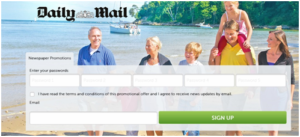 Dailymail Breakfree Holidays Codes 2018