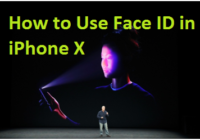 Use Face ID in iPhone X