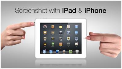 Way to Take Screenshot on iPhone X and iPad