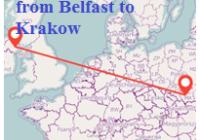 Book Return Flights from Belfast to Krakow