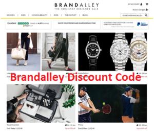 Brandalley Discount Code 2018