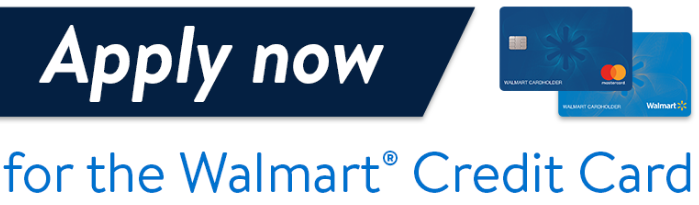 Apply For a Walmart Credit Card Online UK