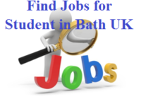 Find Jobs for Student in Bath UK