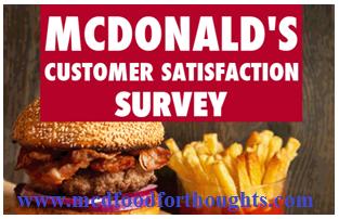 McDonald's Feedback Survey UK