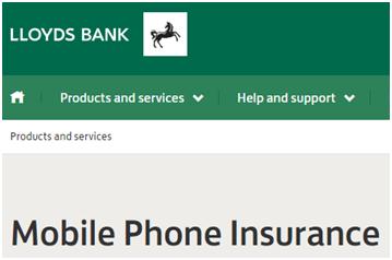 Get Lloyds Phone Insurance