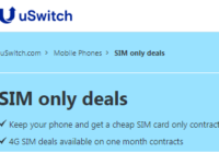 uSwitch Best SIM Only Deals