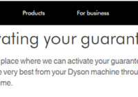 Activation My Dyson Garantie