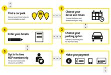 Pre-book NCP Valet Parking Online