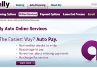 Ally Auto Loan Payoff