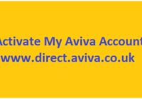 Activate My Aviva Account