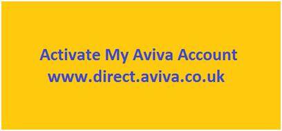 Activate My Aviva Account