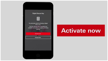 Hsbc co uk Activate Secure Key