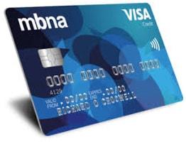 MBNA credit card log in