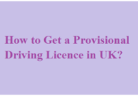 Provisional Driving Licence Apply