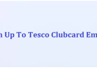 Sign Up To Tesco Clubcard Emails