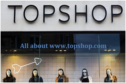 Sign Up for an Online Topshop Account