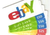 eBay Gift Card Activation