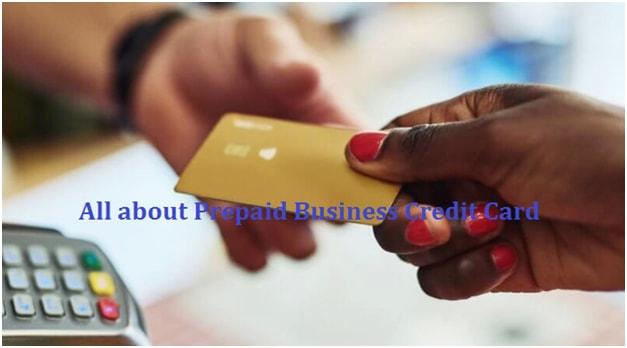 Prepaid Business Credit Card