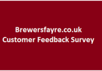 Brewers Fayre Survey 2019