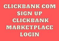 Clickbank.com Sign Up - Clickbank Marketplace UK Login