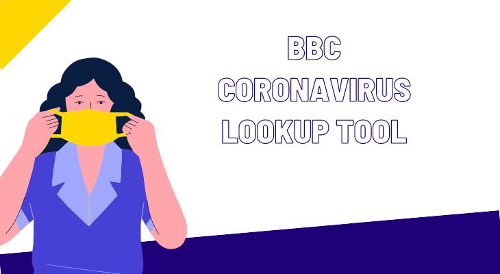 BBC Coronavirus Lookup Tool