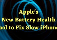 iphone battery health 85