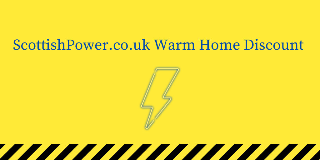 ScottishPower.co.uk Warm Home Discount
